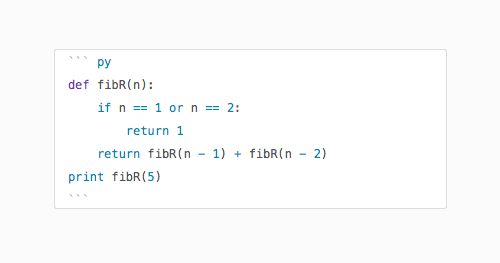 Show syntax highlighting for your code snippets in notes
